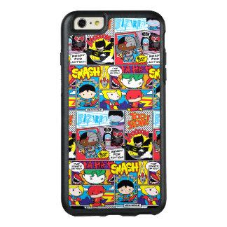 Motif de bande dessinée de ligue de justice de coque OtterBox iPhone 6 et 6s plus