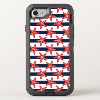 Motif de bannière étoilée coque otterbox defender pour iPhone 7
