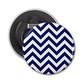 Motif de bleu marine et blanc grand de Chevron de