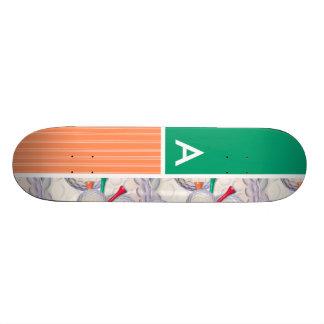 Motif de boules et de tee - shirt de golf skateboards personnalisés