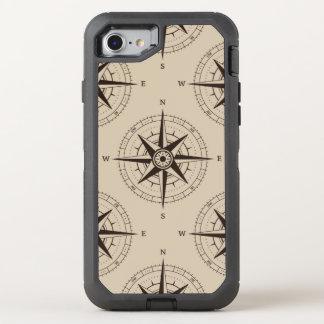 Motif de boussole de navigation coque otterbox defender pour iPhone 7