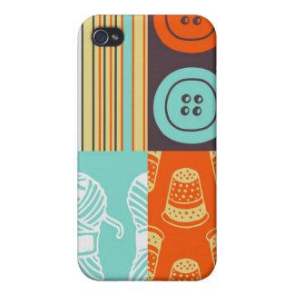 motif de Bruit-art - cousant Coques iPhone 4/4S