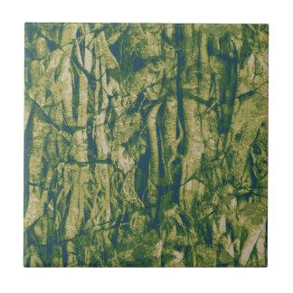 Motif de camouflage d'écorce d'arbre petit carreau carré