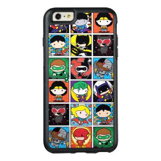 Motif de caractère de ligue de justice de Chibi Coque OtterBox iPhone 6 Et 6s Plus