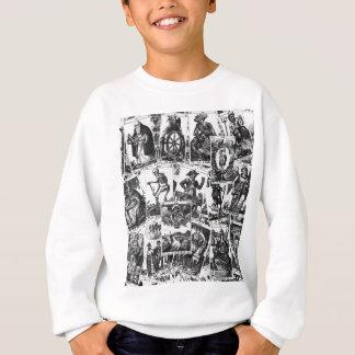 Motif de cartes de tarot sweatshirt