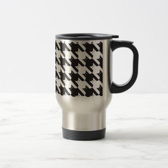 motif de catstooth mug de voyage zazzle. Black Bedroom Furniture Sets. Home Design Ideas