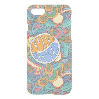 Motif de cavalier de surf coque iPhone 8/7