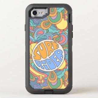 Motif de cavalier de surf coque otterbox defender pour iPhone 7