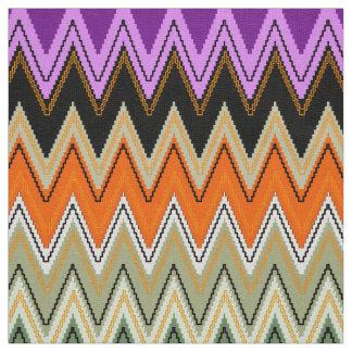 Motif de Chevron, tissu de zigzag mignon