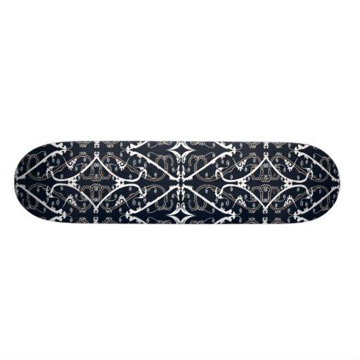Motif de chinois traditionnel planches à roulettes