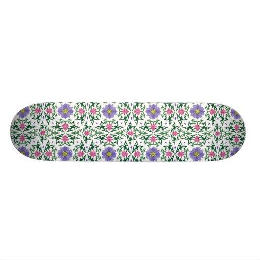 Motif de chinois traditionnel plateaux de planche à roulettes