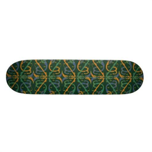 Motif de chinois traditionnel skateboards personnalisés