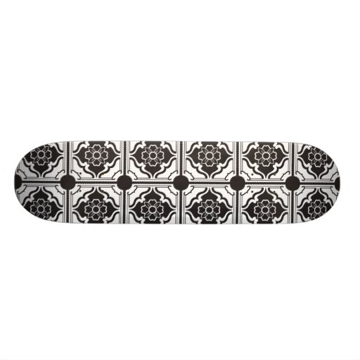 Motif de chinois traditionnel skateboards
