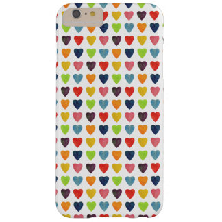 Motif de coeur d'aquarelle coque iPhone 6 plus barely there