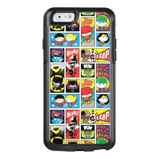 Motif de compilation de ligue de justice de Chibi Coque OtterBox iPhone 6/6s
