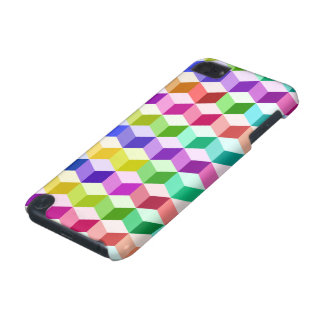 Motif de cube multicolore coque iPod touch 5G