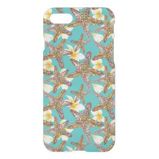 Motif de fantaisie d'étoiles de mer coque iPhone 7