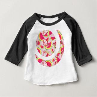 Motif de fiesta de melon de fraises t-shirt pour bébé