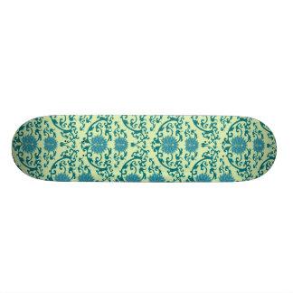 Motif de fleur de chinois traditionnel skateboard customisable