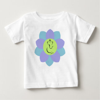 Motif de fleur de Ganesh de Dieu T-shirts