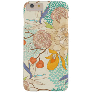 Motif de fleur rose moderne de pivoine coque iPhone 6 plus barely there
