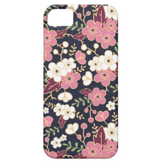 Motif de fleurs de jardin de nuit coque barely there iPhone 5