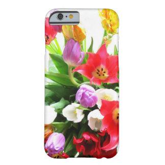 Motif de fleurs romantique de tulipe de ressort coque barely there iPhone 6