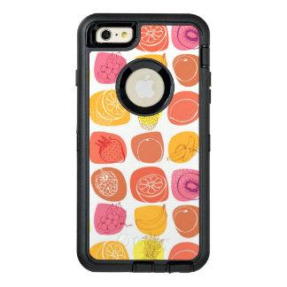 Motif de fruit coque OtterBox iPhone 6 et 6s plus