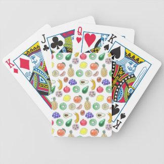 Motif de fruit jeu de poker