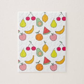 motif de fruit puzzle