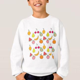 motif de fruit sweatshirt