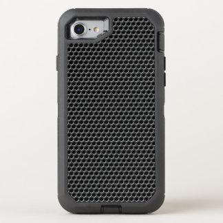 Motif de grille en métal - arrière - plan coque otterbox defender pour iPhone 7