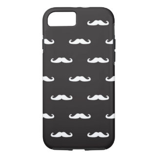 Motif de hippie de moustache coque iPhone 7