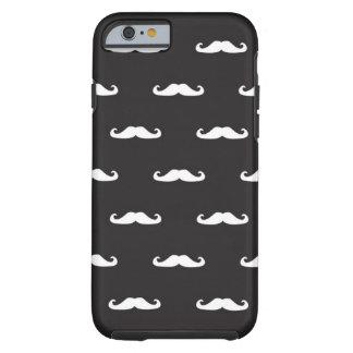 Motif de hippie de moustache coque tough iPhone 6