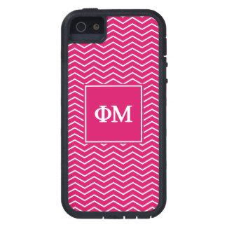 Motif de la MU | Chevron de phi Étuis iPhone 5