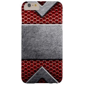 Motif de la plaque de métal coque iPhone 6 plus barely there