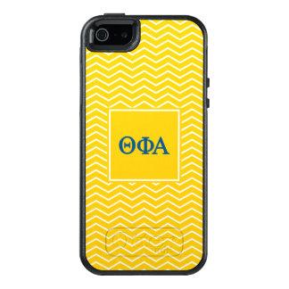 Motif de l'alpha | Chevron de phi de thêta Coque OtterBox iPhone 5, 5s Et SE