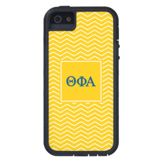 Motif de l'alpha | Chevron de phi de thêta iPhone 5 Case