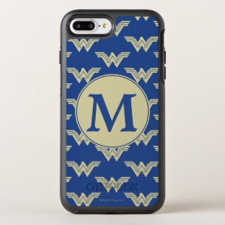 Motif de logo de femme de merveille de monogramme coque otterbox symmetry pour iPhone 7 plus