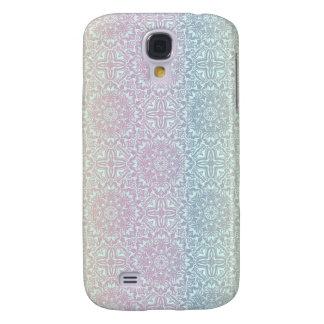 Motif de luxe floral de mandala coque galaxy s4