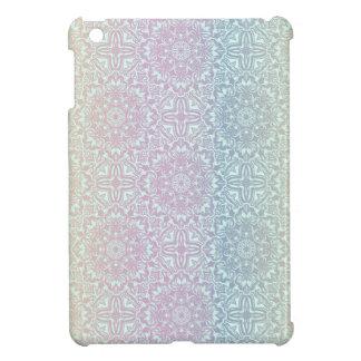 Motif de luxe floral de mandala coque iPad mini