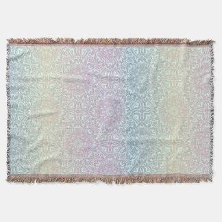 Motif de luxe floral de mandala couverture