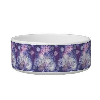 Motif de luxe floral de mandala écuelle