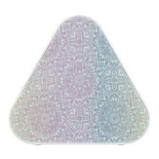 Motif de luxe floral de mandala haut-parleur bluetooth