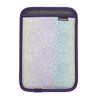Motif de luxe floral de mandala housse pour iPad mini