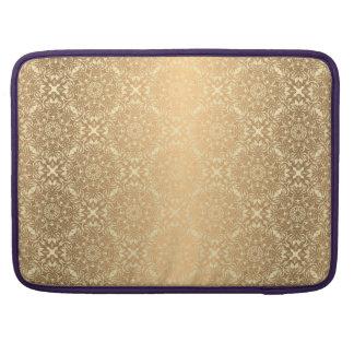 Motif de luxe floral de mandala housse pour macbook
