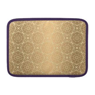 Motif de luxe floral de mandala housse pour macbook air