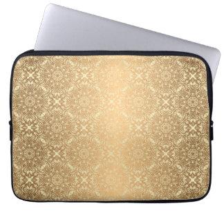 Motif de luxe floral de mandala protection pour ordinateur portable