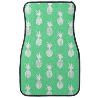 Motif de menthe d'ananas tapis de voiture