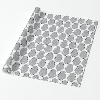 Motif de motif d'art déco papier cadeau